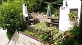 Chalupa Andy, Špania Dolina - Terasa a záhradný gril