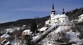 Špania Dolina v zime